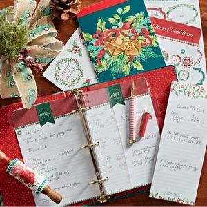 NEW Pioneer Woman holiday planner set
